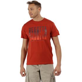 Regatta Cline II T-Shirt Men Burnt Tikka